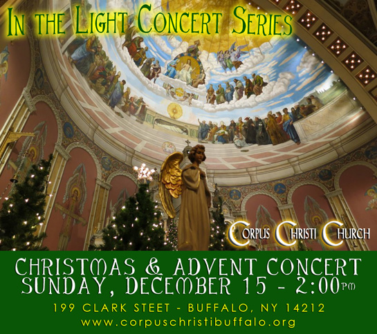 Christmas and Advent Concert @ Corpus Christi Church | Buffalo | New York | United States