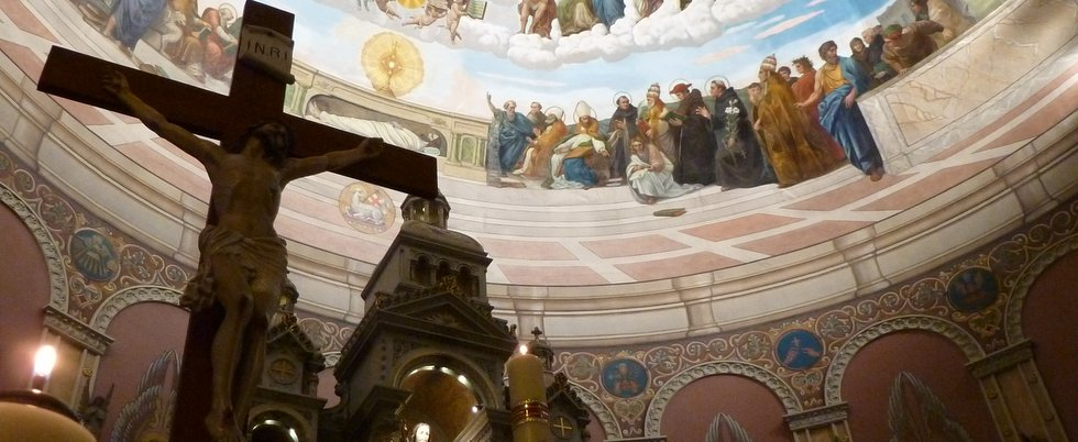 Lighting of magnificent newly restored mural scheduled for Church mural restoration